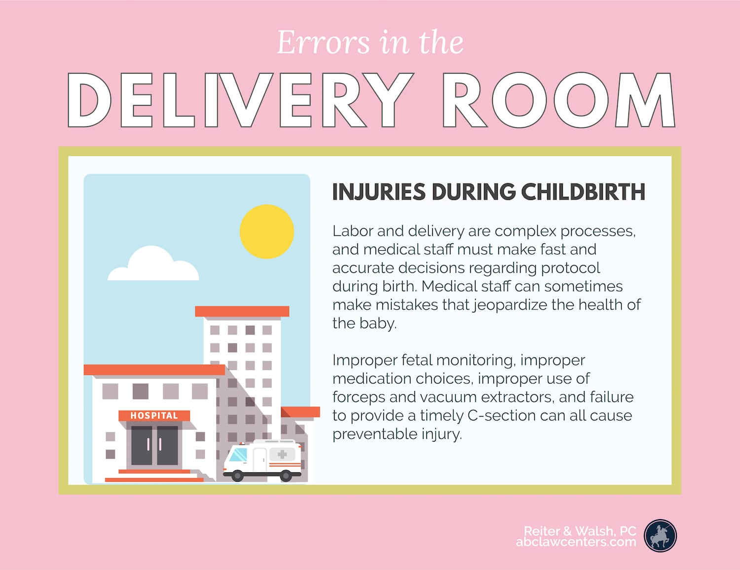 Delivery Room Errors - Childbirth Injuries