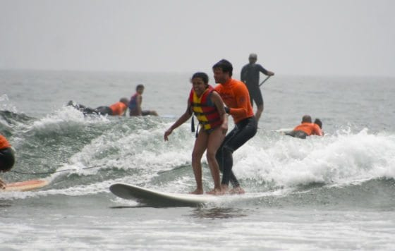 Adaptive surfing for Disabilities