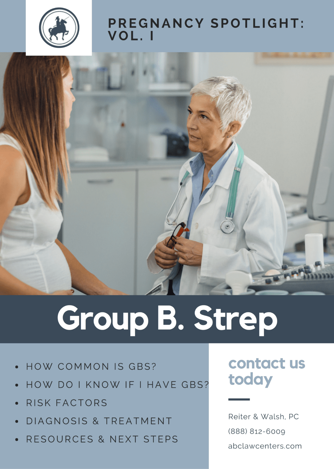 Pregnancy Spotlight - Group B Strep - Reiter & Walsh