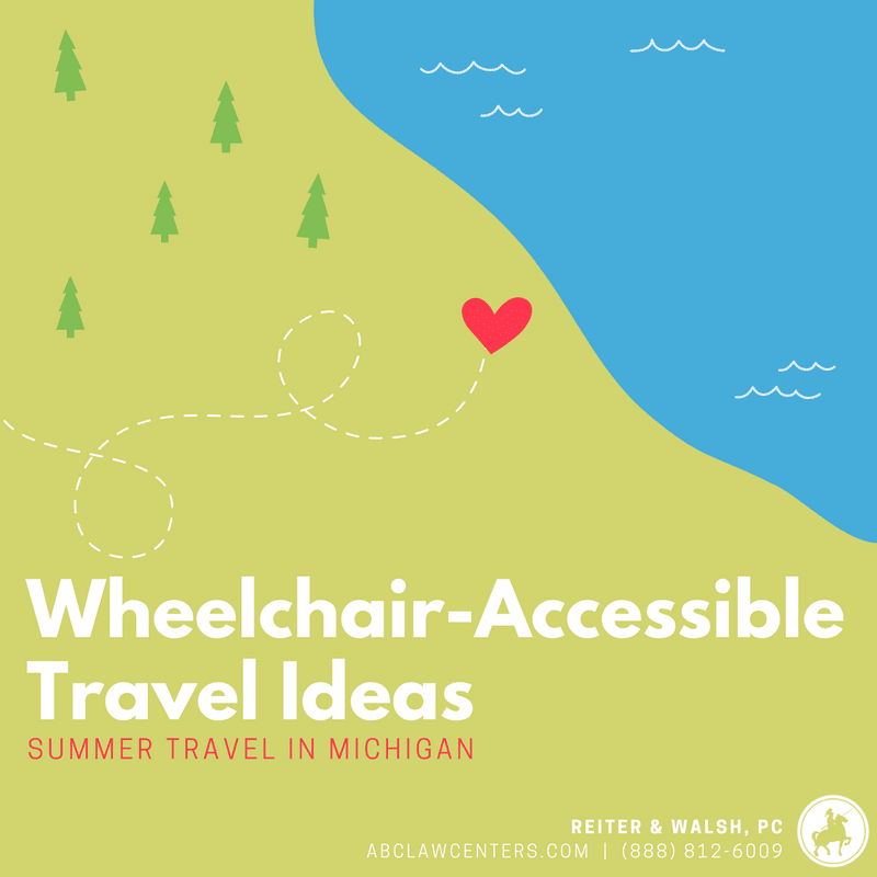 Wheelchair Accessible Travel Ideas - Summer Travel in Michigan