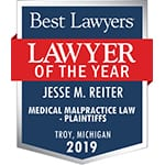 Lawyer of the Year Jesse Reiter