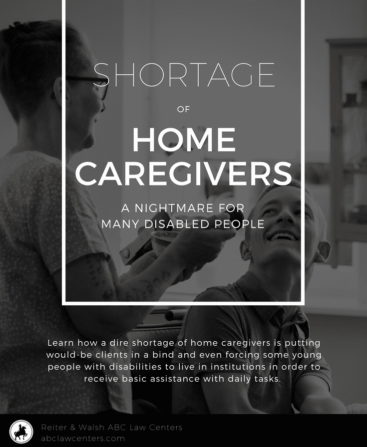 Home caregiver shortage